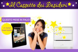 DonnaD Il Cassetto Dei Desideri Tablet Iconia