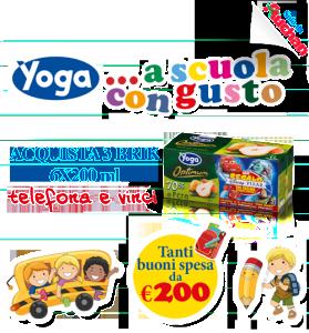 Yoga Auchan Concorso A Scuola Con Gusto