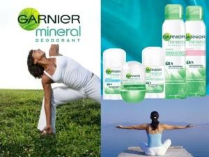 Testa Garnier Mineral Deodorant