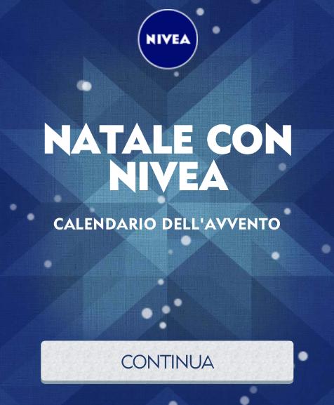 Nivea Calendario Avvento.Concorso Nivea Calendario Avvento Campioni Gratuiti
