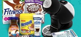 Vinci buoni spesa e prodotti Nestlè