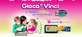 Vinci un tablet Going Android, con Pampers