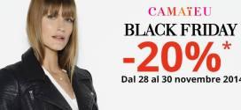 Camaïeu: Buono sconto del 20%