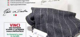 Giveaway Nato In Italia: Vinci una sciarpa di cachemere