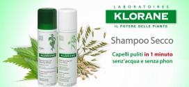 Testa shampoo secco Klorane