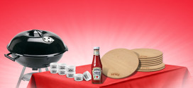 Vinci un kit barbecue, con Heinz