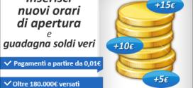 Guadagna con www.oraridiapertura24.it