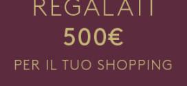 Fidenza Village: Regalati 500 €uro di Shopping