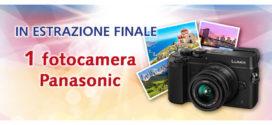 Vinci buoni acquisto e fotocamera Panasonic