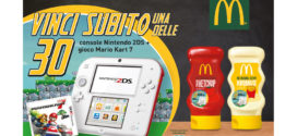 Develey e McDonald's: Vinci un Nintendo 2DS