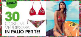 Cosmopolitan regala bikini a triangolo Verdissima