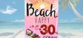 Sconto Pittarello: Don't Worry Beach Happy