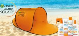 Ambre Solaire ti regala la tenda da spiaggia
