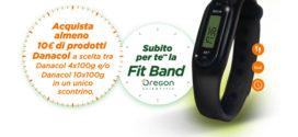 Danacol regala FitBand Oregon Scientific