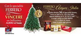 Ferrero: Vinci sei alberi di Natale al giorno!