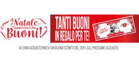 Piazza Italia: Spendi 5 €uro, ricevi 5 €uro