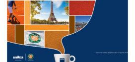 Lavazza: Vinci Parigi e l'emozione del Roland-Garros