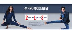#PromoDenim OVS: Il terzo jeans ad 1 €uro!
