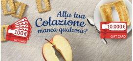 Parmalat: Vinci tante shopping card