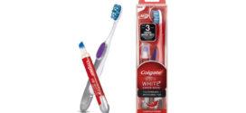 Colgate: Penna sbiancante e spazzolino in edicola