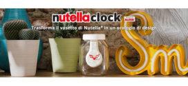 Nutella Clock nei punti vendita