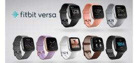 Vinci ogni giorno due Smartwatch Fitbit Versa