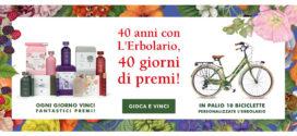 40 Anni Con L'Erbolario, 40 Giorni Di Premi!