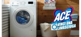 Ace: Vinci una lavasciuga