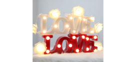 Acqua & Sapone: Lampada Love omaggio