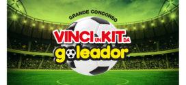 Vinci un kit da Goleador