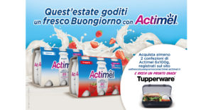 Actimel Tupperware