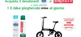 Neutro Roberts Borotalco: Vinci biciclette Nilox