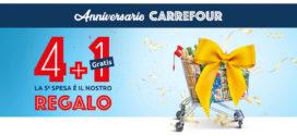 Carrefour: 5° spesa in regalo!